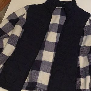 Denim an acoustic plaid flannel jacket #140 P